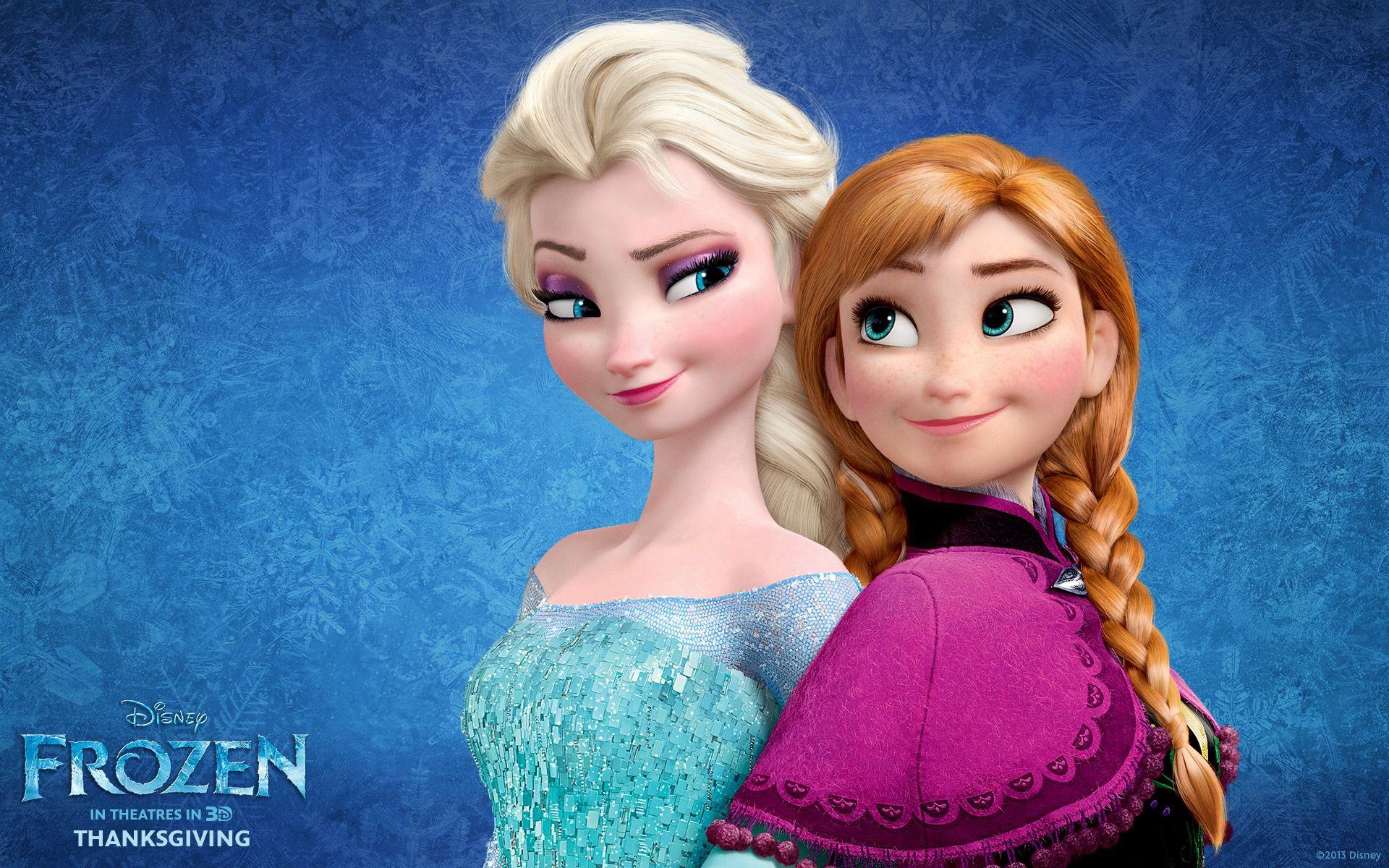 Resultado de imagen para anna and elsa disney princess