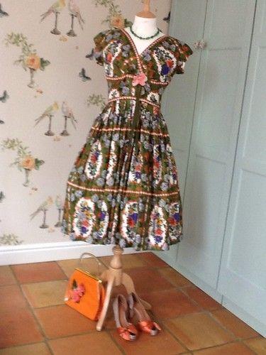 1950s Dress by Blanes   eBay