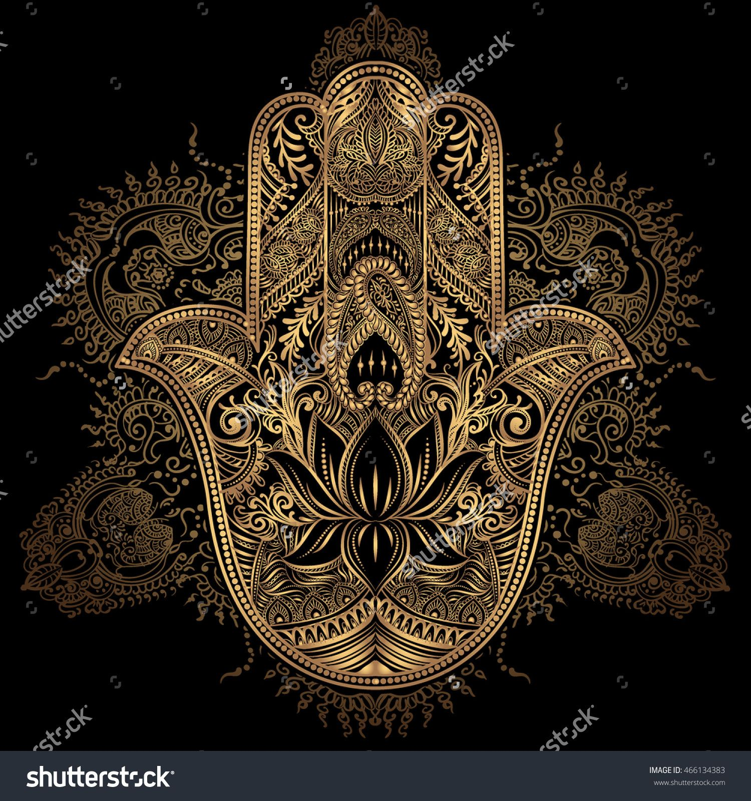 Hand drawn ornate amulet hamsa hand of fatima ethnic amulet hand drawn ornate amulet hamsa hand of fatima ethnic amulet common in indian arabic and jewish cultures buy this stock vector on shutterstock find biocorpaavc