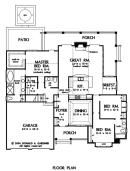 The Jenner House Plan 1185 First Floor Plan