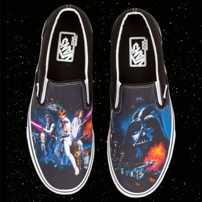 vans star wars slip on