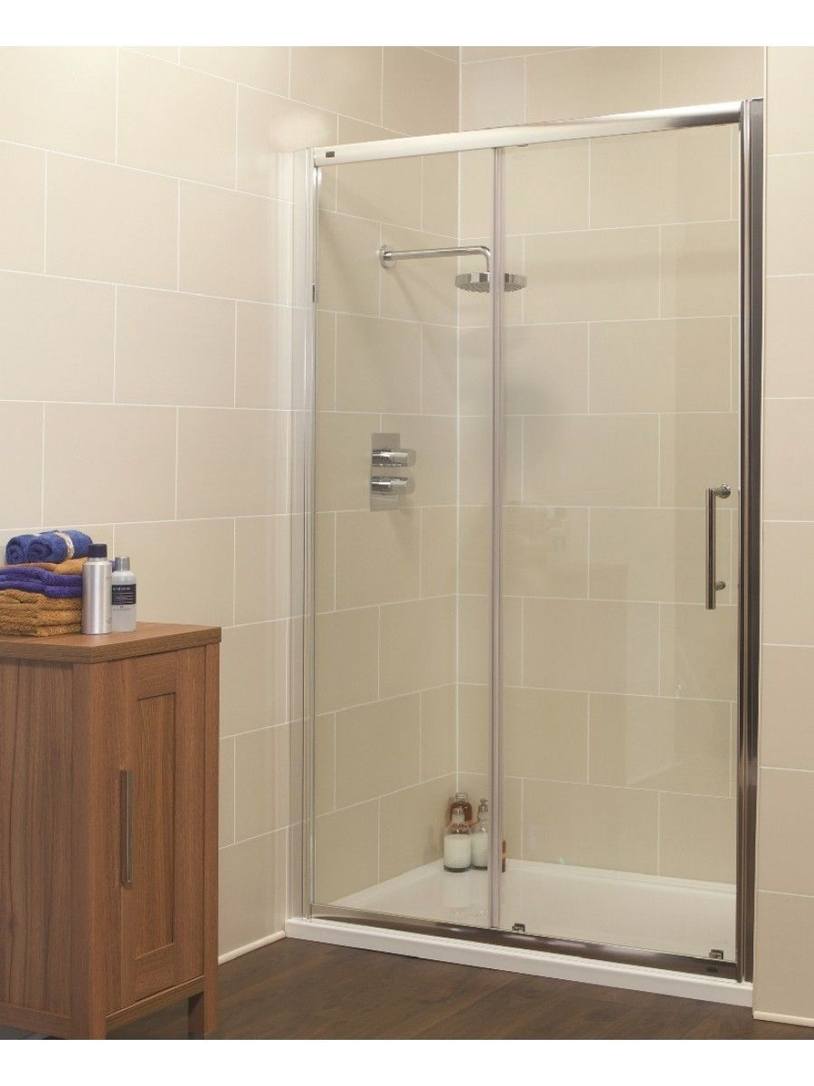 Kyra Range 1150 Sliding Shower Door Adjustment 1100 1160mm Shower Doors Sliding Shower Door Basement Bathroom