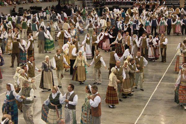 Lithuania - National dance Folk Dance