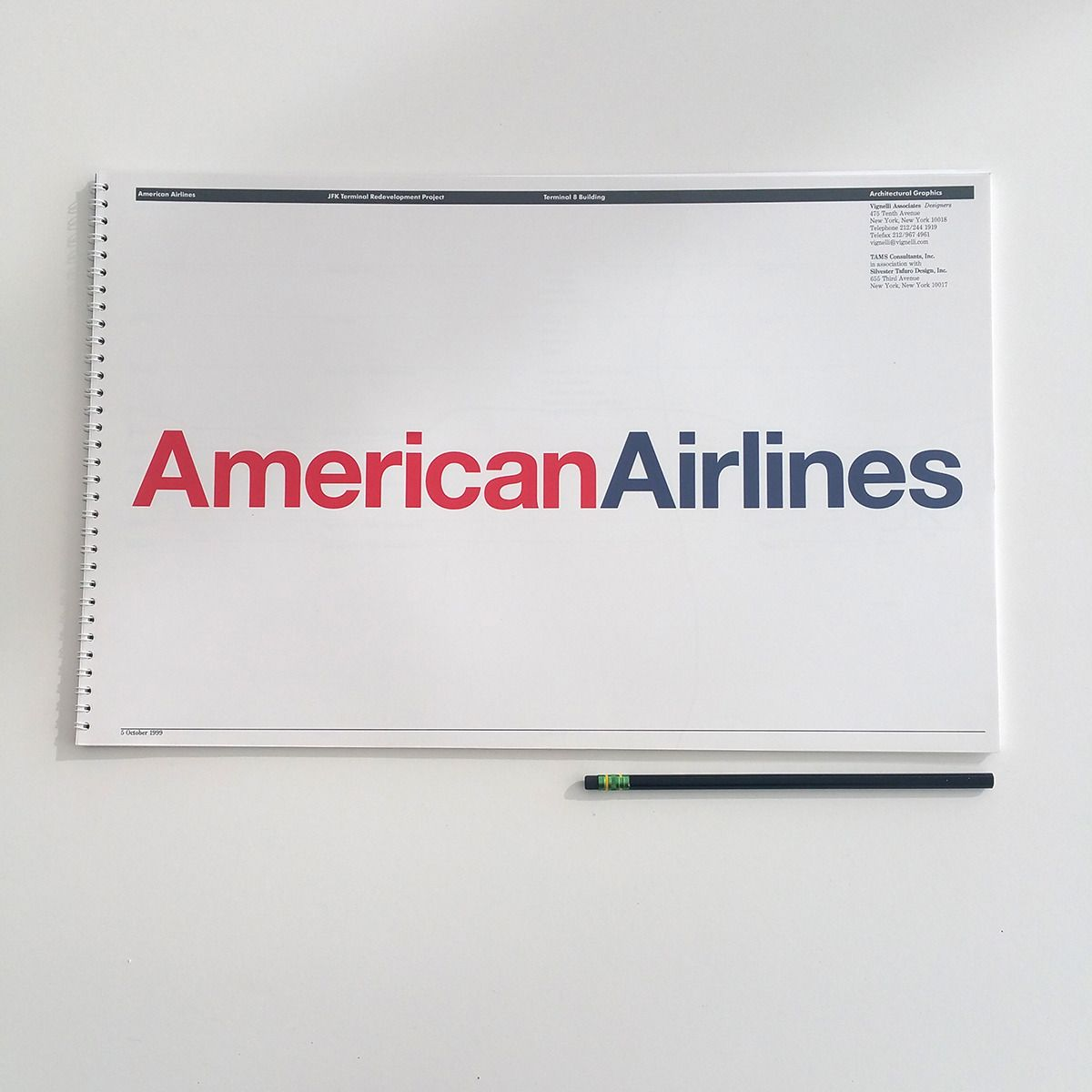 Every Monday we share an excerpt from a graphic standards manual. American  Airlines, JFK Terminal Redevelopment Project, Terminal 8 Building,  Architectural ...