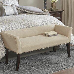 Wrought Studio Kaysen Accent Upholstered Bench | Wayfair