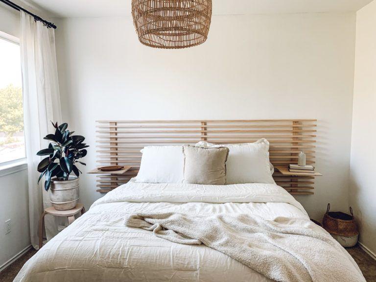 45+ Diy floating headboard with nightstands inspirations
