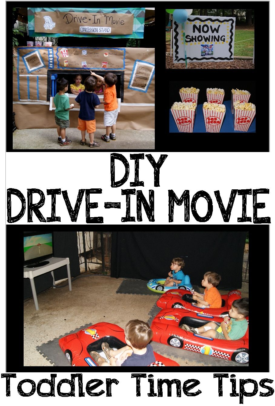Drive in movie for details and daily activities go to