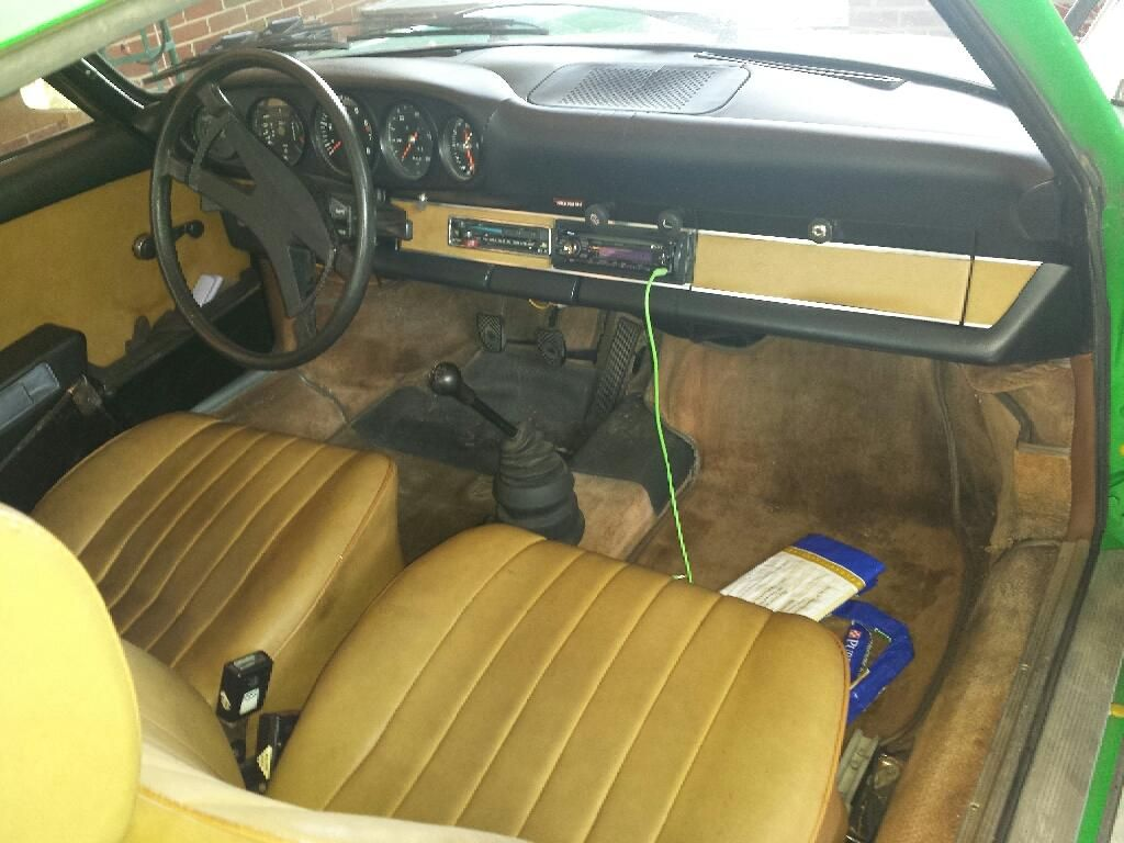 1973 Porsche 911T Coupe, matching numbers, chassis