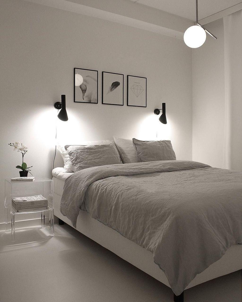 46 Cozy Minimalist Bedroom To Inspire Yourself Decoomo Com