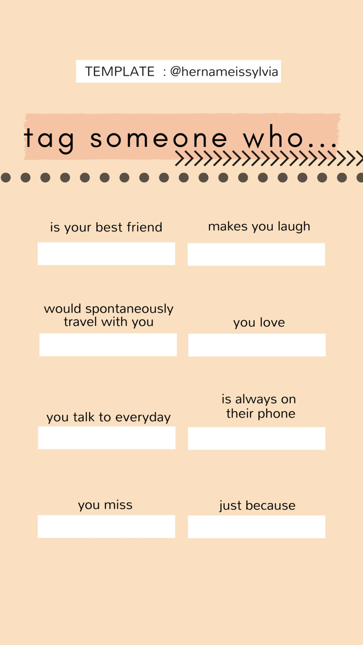 Instagram Template Tag Someone Who Instagram Story Questions Snapchat Questions Instagram Template
