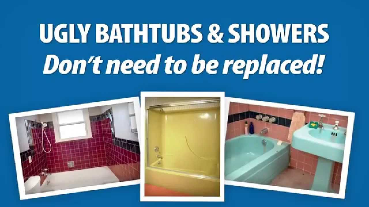 Ugly bathtubs & showers don\'t need to be replaced! | Bathtub ...