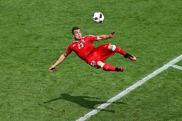 Has Xherdan Shaqiri Scored The Goal Of Euro 2016 Tweets Uefa Euro 2016 Bicycle Kick Euro 2016