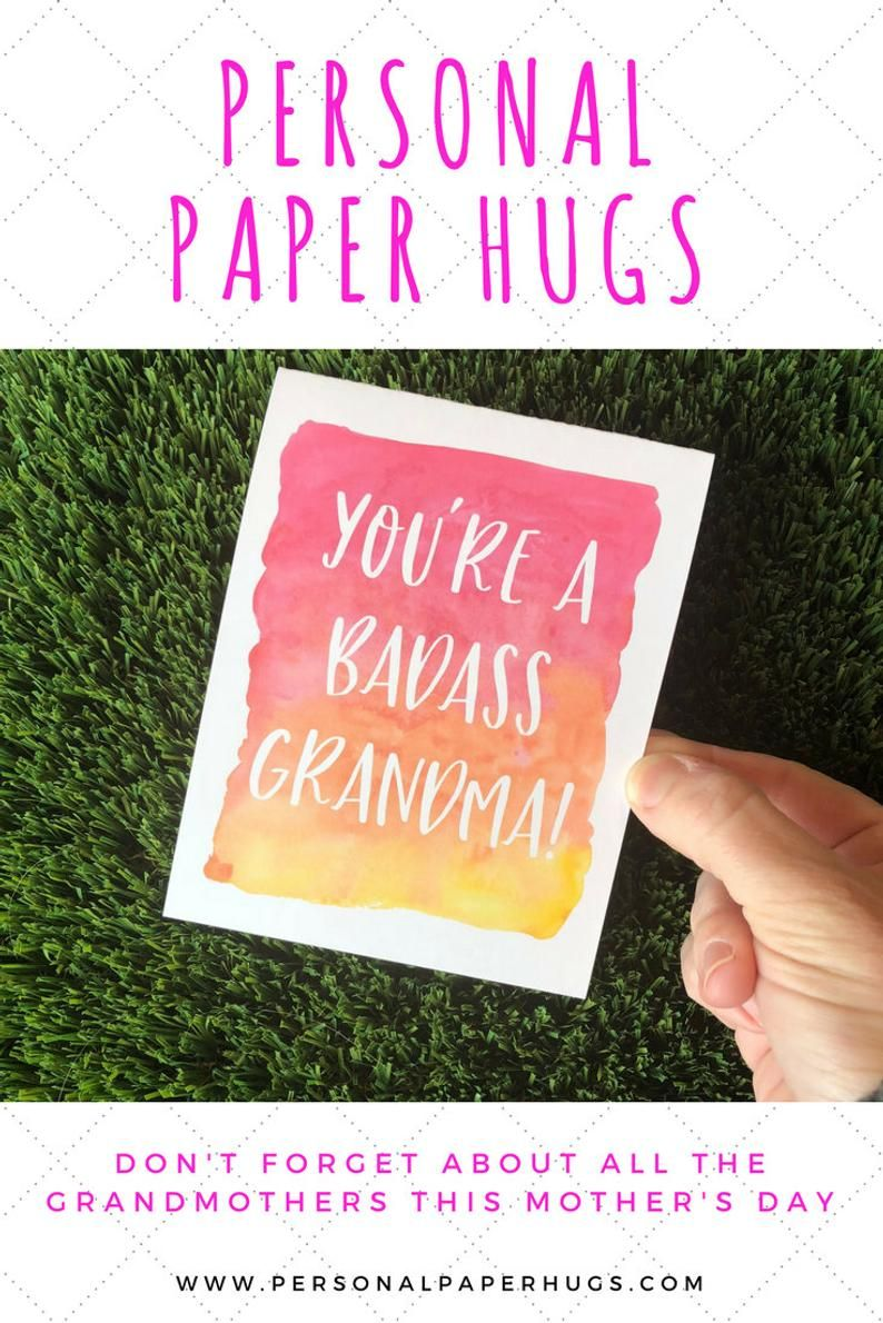 Funny Mother's Day card for Grandma / Funny Card for Nana