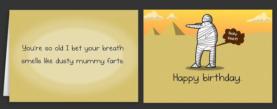 Horrible Cards Greeting Cards By The Oatmeal Haha Funny Cards Greeting Cards