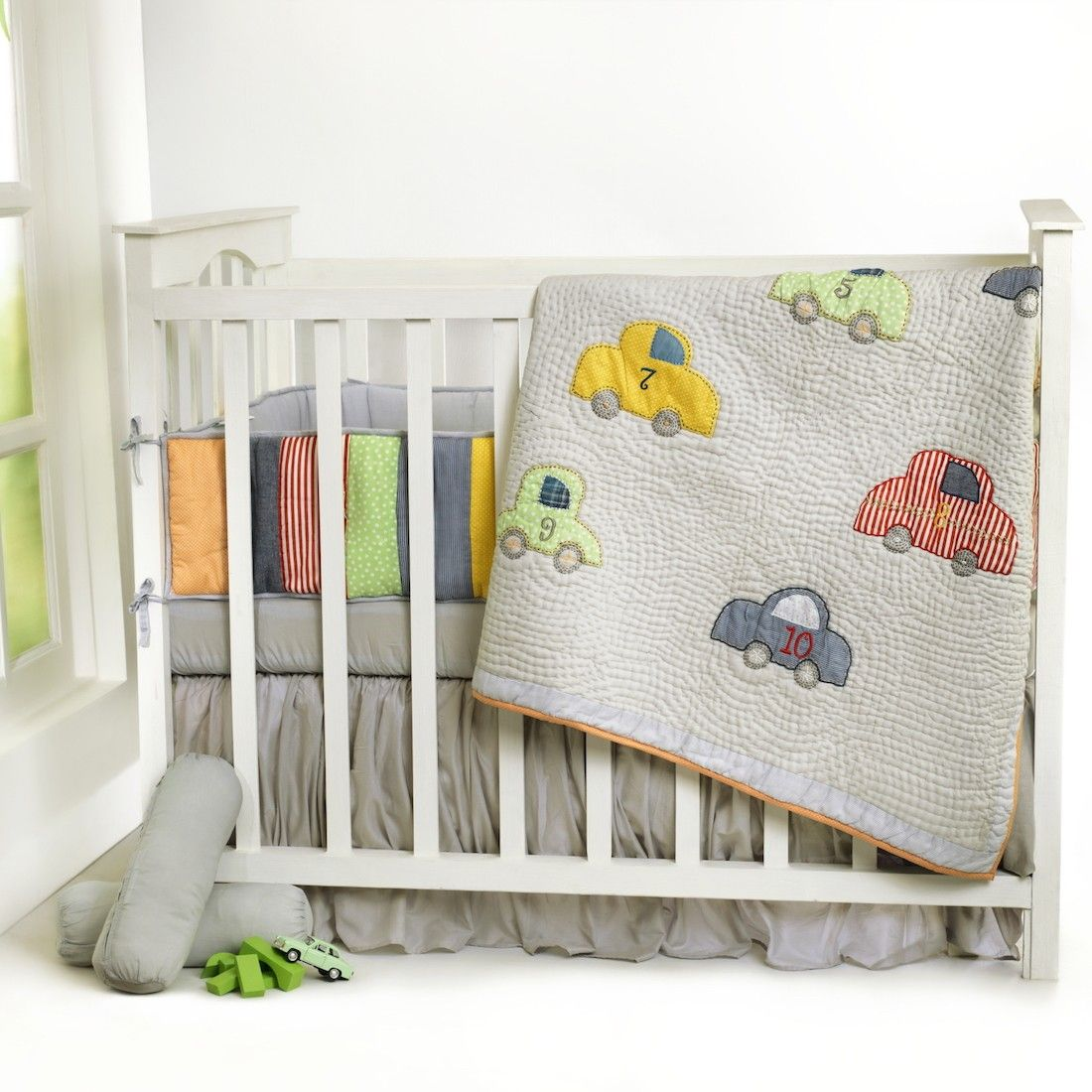 vintage cars with kantha - boys' bedding collections ...