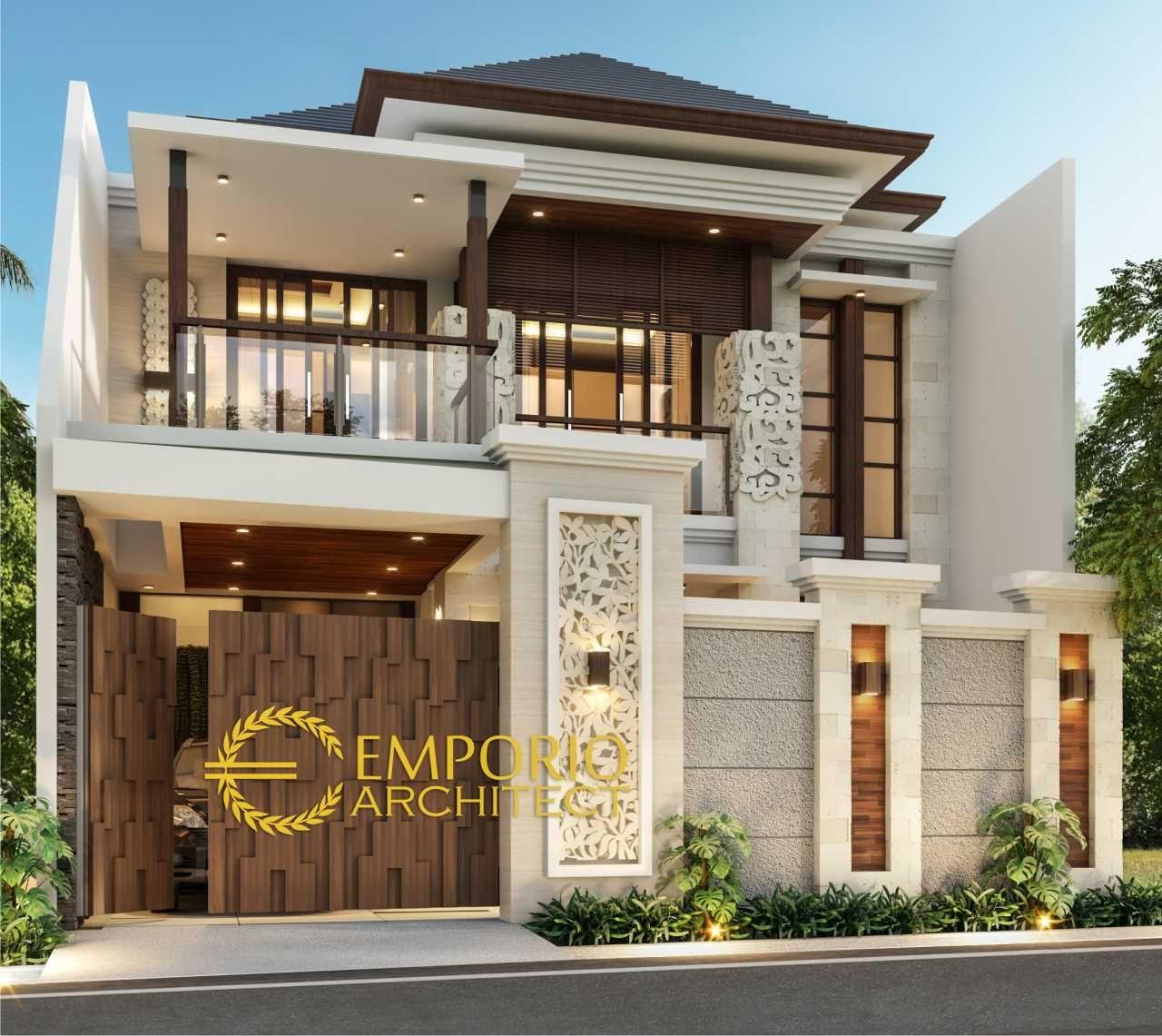 Arsitek Rumah Classic: Desain Rumah Jasa Arsitek Jakarta Barat Desain Rumah Ibu
