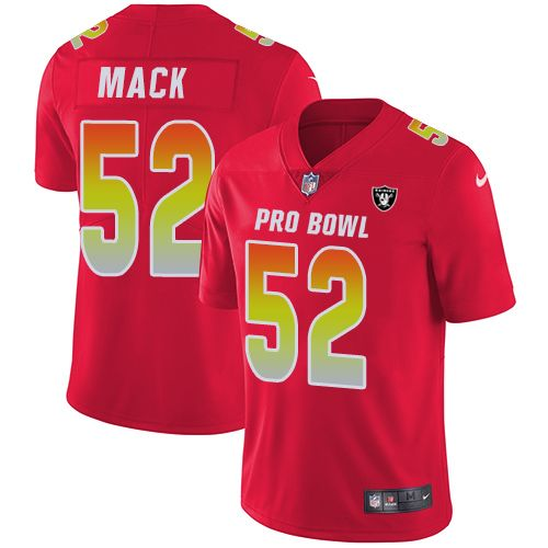 e83ea2e30 ... switzerland nike raiders 52 khalil mack red mens stitched nfl limited  afc 2018 pro bowl jersey