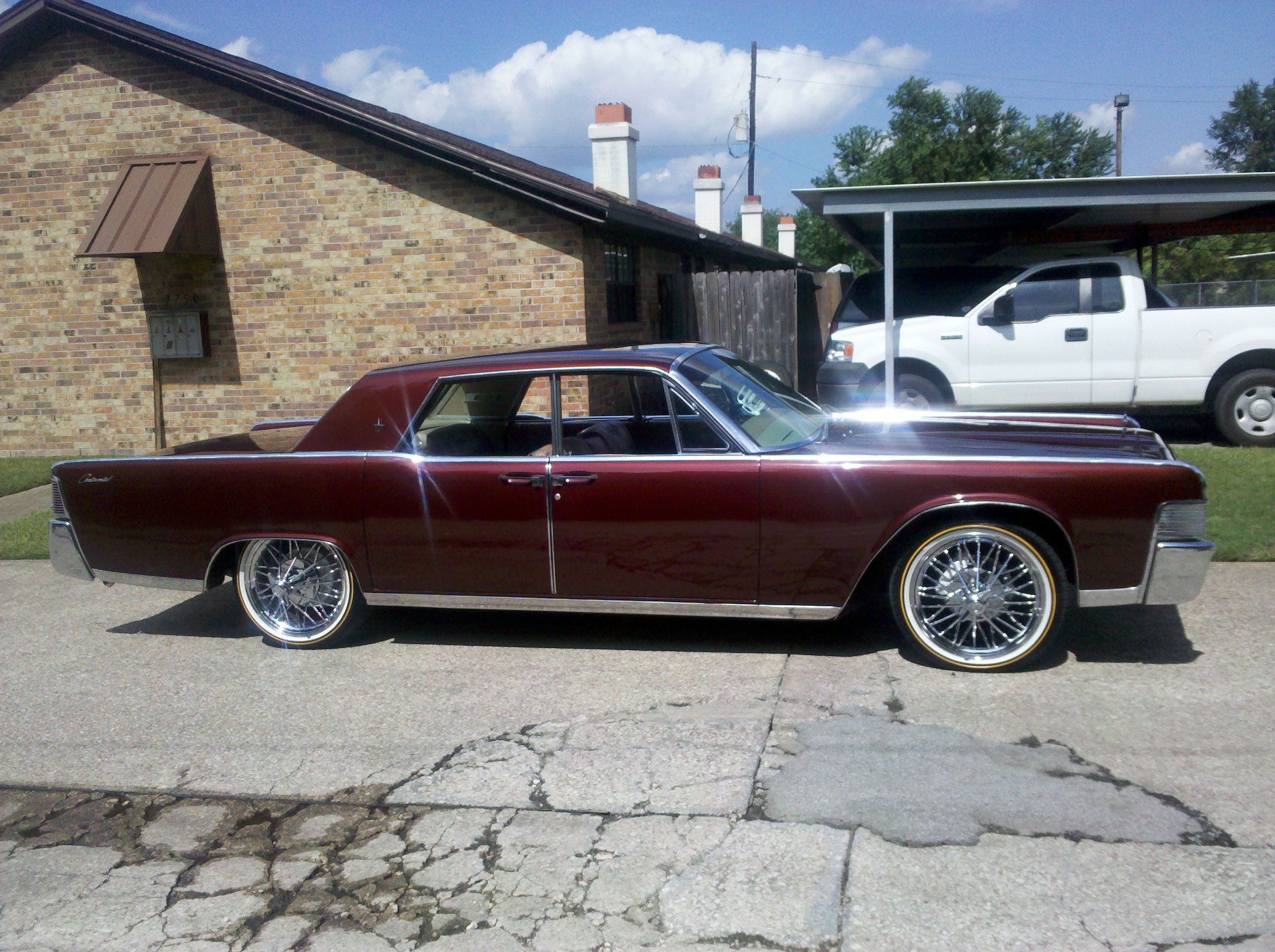 Hdac77 S 1965 Lincoln Continental In Beaumont Tx Lincoln Continental Lincoln Cars Donk Cars