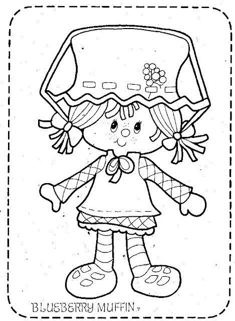 Coloring Book~Strawberry Shortcake - Bonnie Jones - Álbuns da web do ...