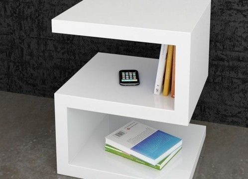 Mesa de centro auxiliar moderna mesas y auxiliares for Mesa auxiliar esquinera