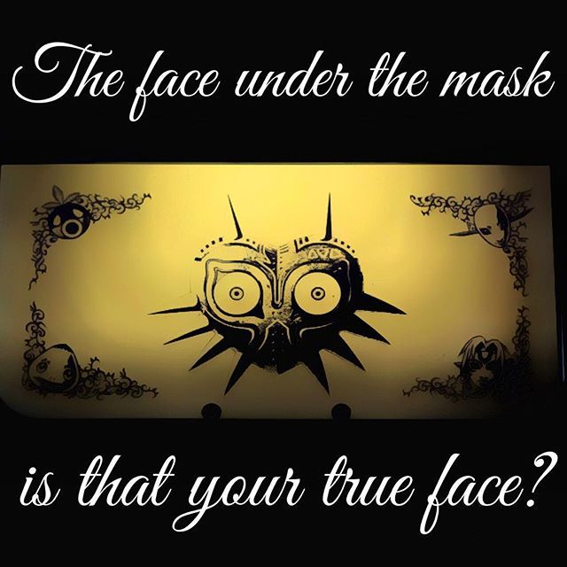 Just loving my Majora's Mask 3DS, those eyes are fear inducing though... #Nintendo #Zelda #3DS #majorasmask #link #mobile #handheld #mask #videogames #onthego #photo #photograph #canon #instagram #instamood #geek #nerd #fear #eyes #skullkid #crazy #mood #dark #gold