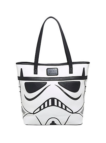 Loungefly Star Wars Darth Vader & Stormtrooper Tote BagLoungefly Star Wars Darth Vader & Stormtrooper Tote Bag,