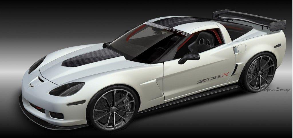 2011 Corvette ZO6X track car concept Chevrolet corvette