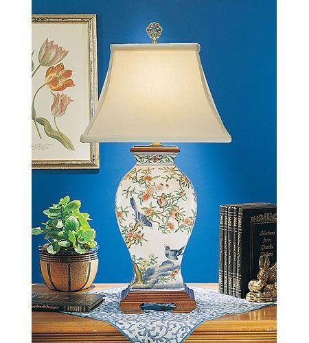 Wildwood Lamps Pom N Bird Table Lamp In Hand Painted Porcelain 5677 Porcelain Painting Lamp Hand Painted Porcelain