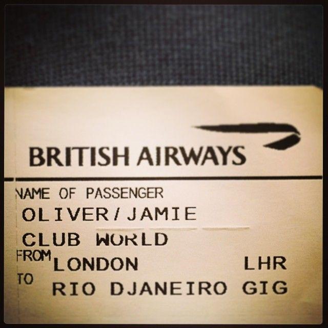 """@jamieoliver's photo: """"Aos meus queridos irmãos e irmãs brasileiros o dia chegou! Estou vindo para o Brasil pela primeira vez ... Eu estou tão animado :) :)! quando eu era criança, eu sonhava em vir .... de qualquer forma eu estou triste Brasil não está na final da Copa do Mundo, mas eu vou assistir ao jogo final com emoção que devo apoiar o Brasil .... grande amor Jamie Oliver"""""""