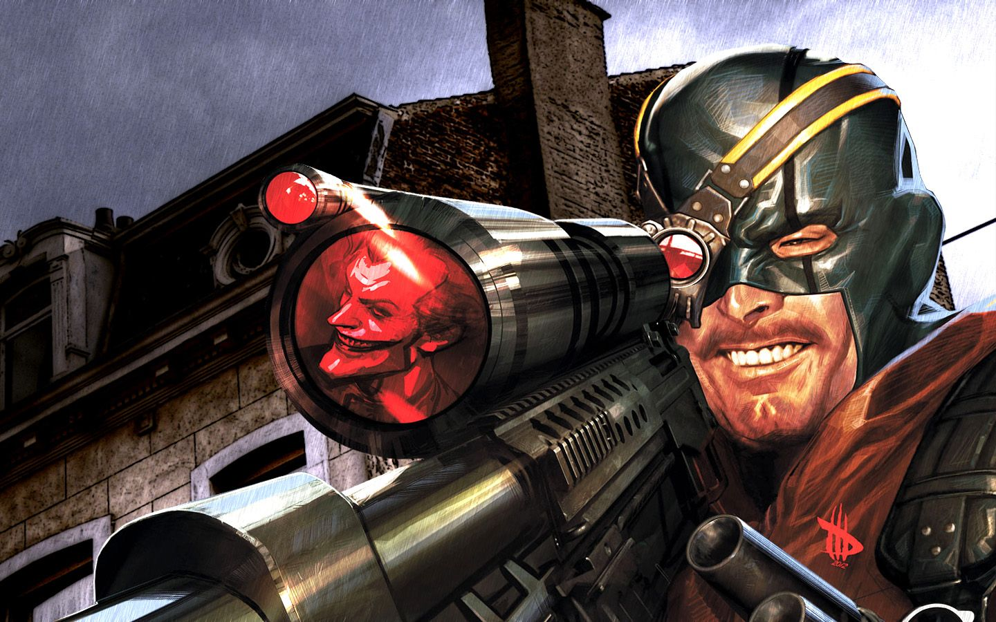 how to find deadshot in batman arkham city victim 3