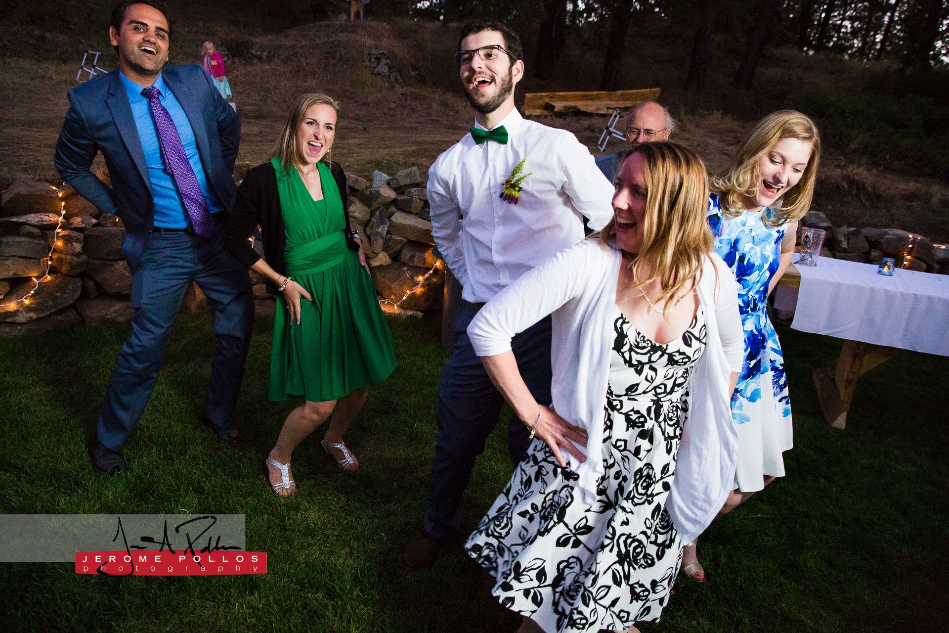 Nothing Kicks Off A Wedding Reception Like A Macarena Flash Mob