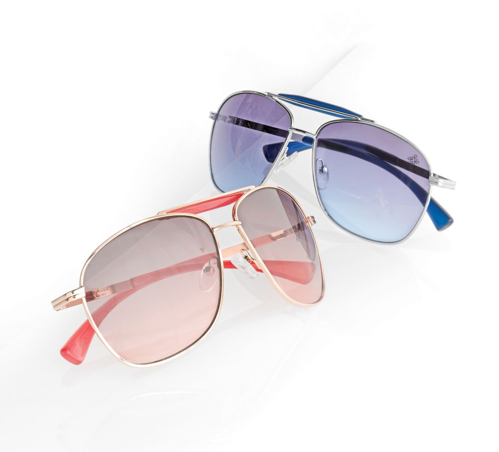 eeae21095bc0 Get ready for sun with Simply Vera Vera Wang sunglasses.  Kohls ...