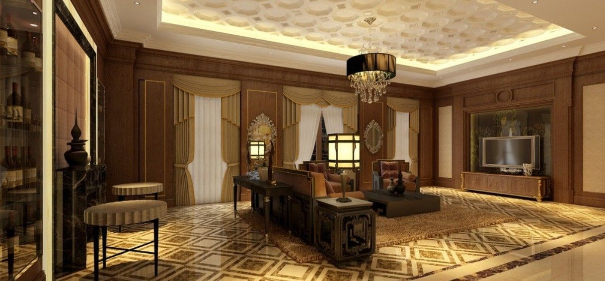 Classic Living Room Design Luxury Living Room  3D Model  Living Rooms Luxury And 3D