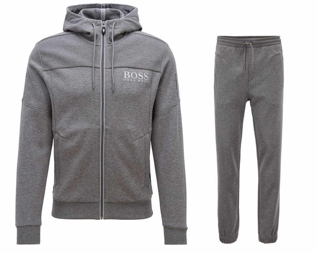 889121ff17632 Spellsports Hugo Boss Tracksuit, Jogging Bottoms, Hooded Jacket, Boxer,  Casual Outfits,