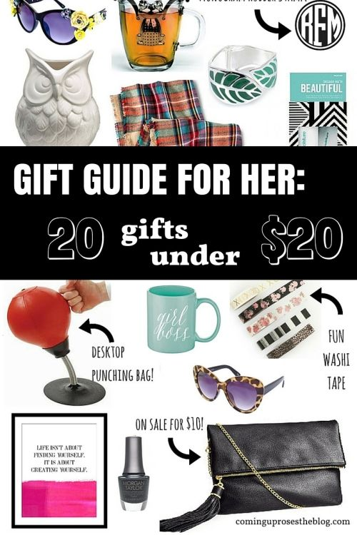 Gift Guide For Her 20 Gifts Under On Coming Up Roses