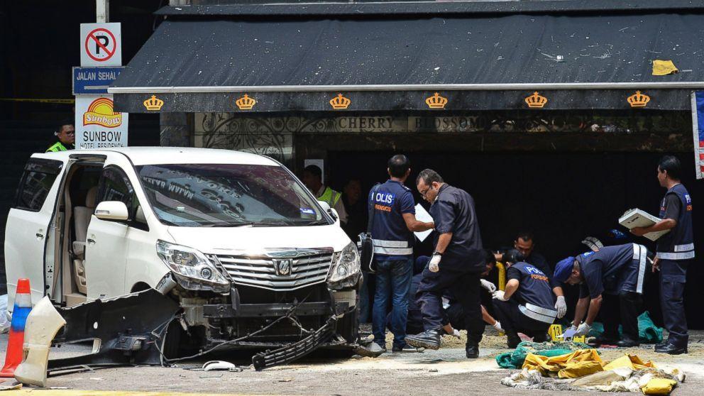 Malaysia Bomb Blast