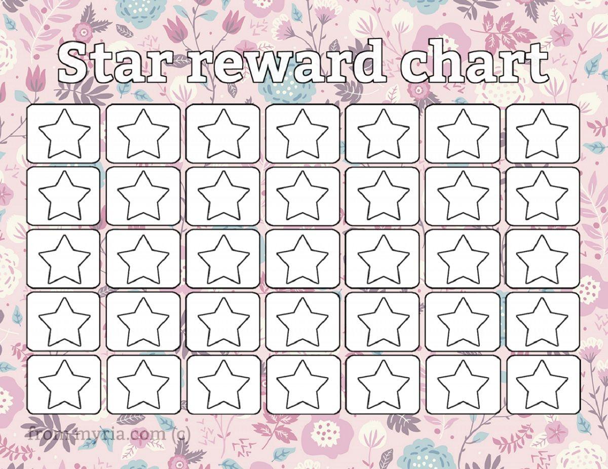 Printable Reward Chart Template