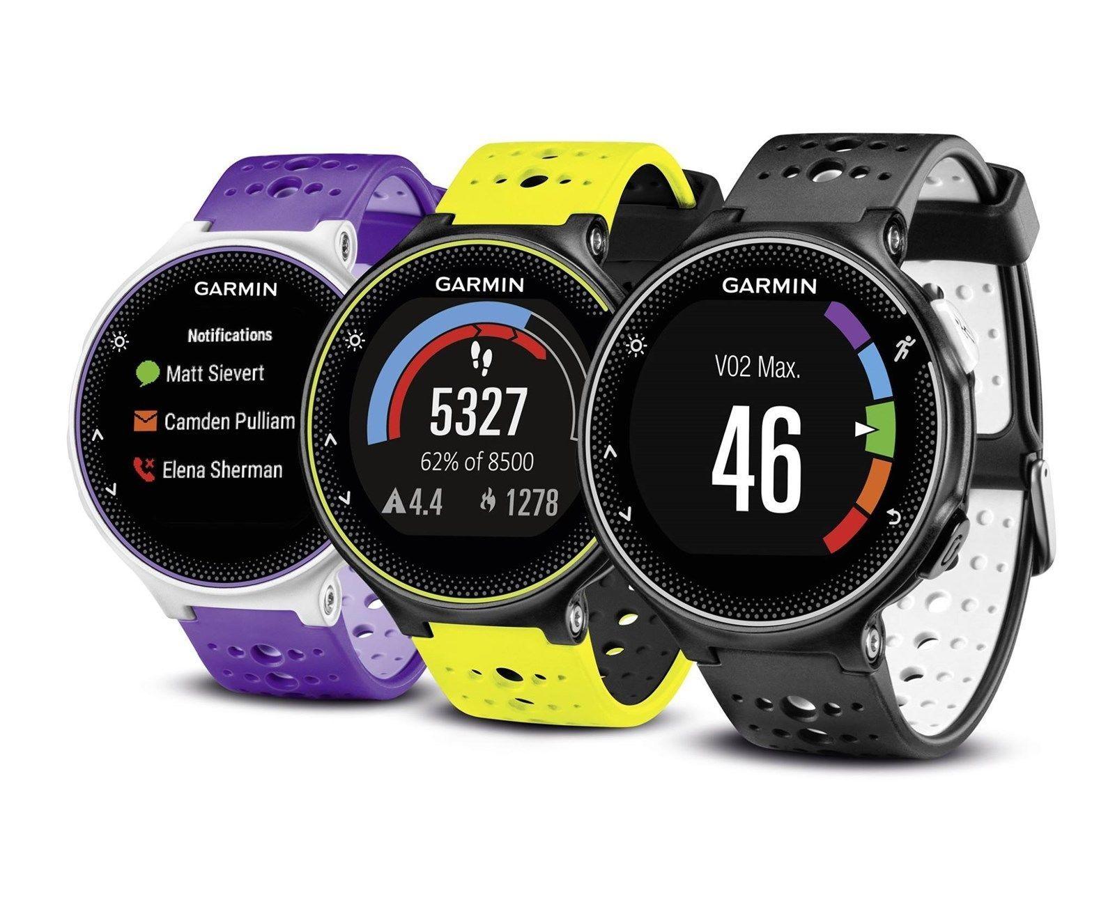 Garmin Forerunner 230 Gps Fitness Running Smart Watch W
