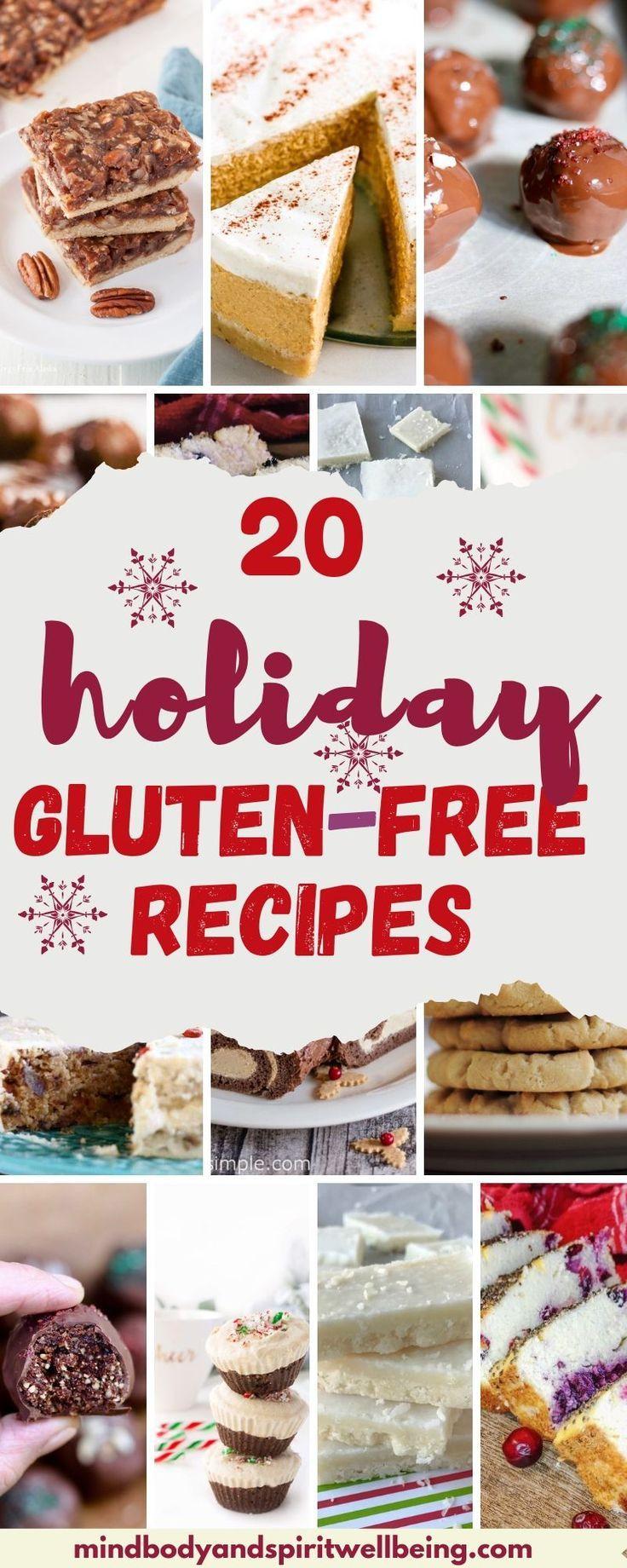 20 Amazing Healthy Gluten Free Holiday Recipes - Mind Body And Spirit Wellbeing #glutenfreebreakfasts