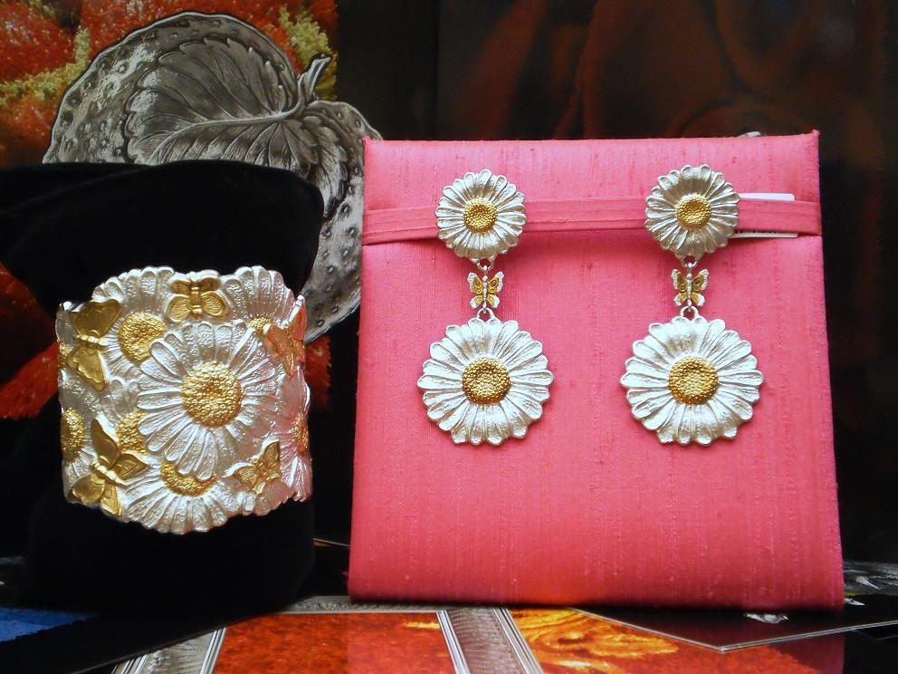 bracciale e orecchini collezione Buccellati Blossoms- Gioielleria Acerbi -Cremona
