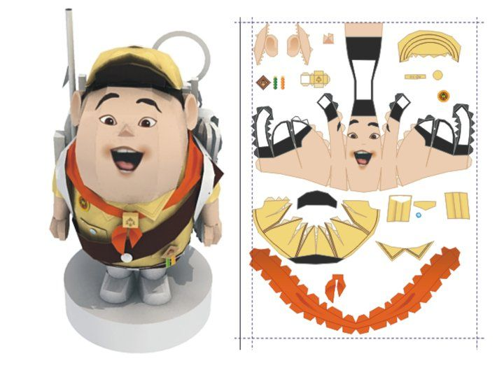 Anime Papercraft Templates  AnimeLover   Paper Craft