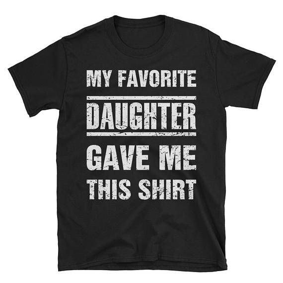 Dad Birthday Shirt Gift from Daughter Super Funny Christmas