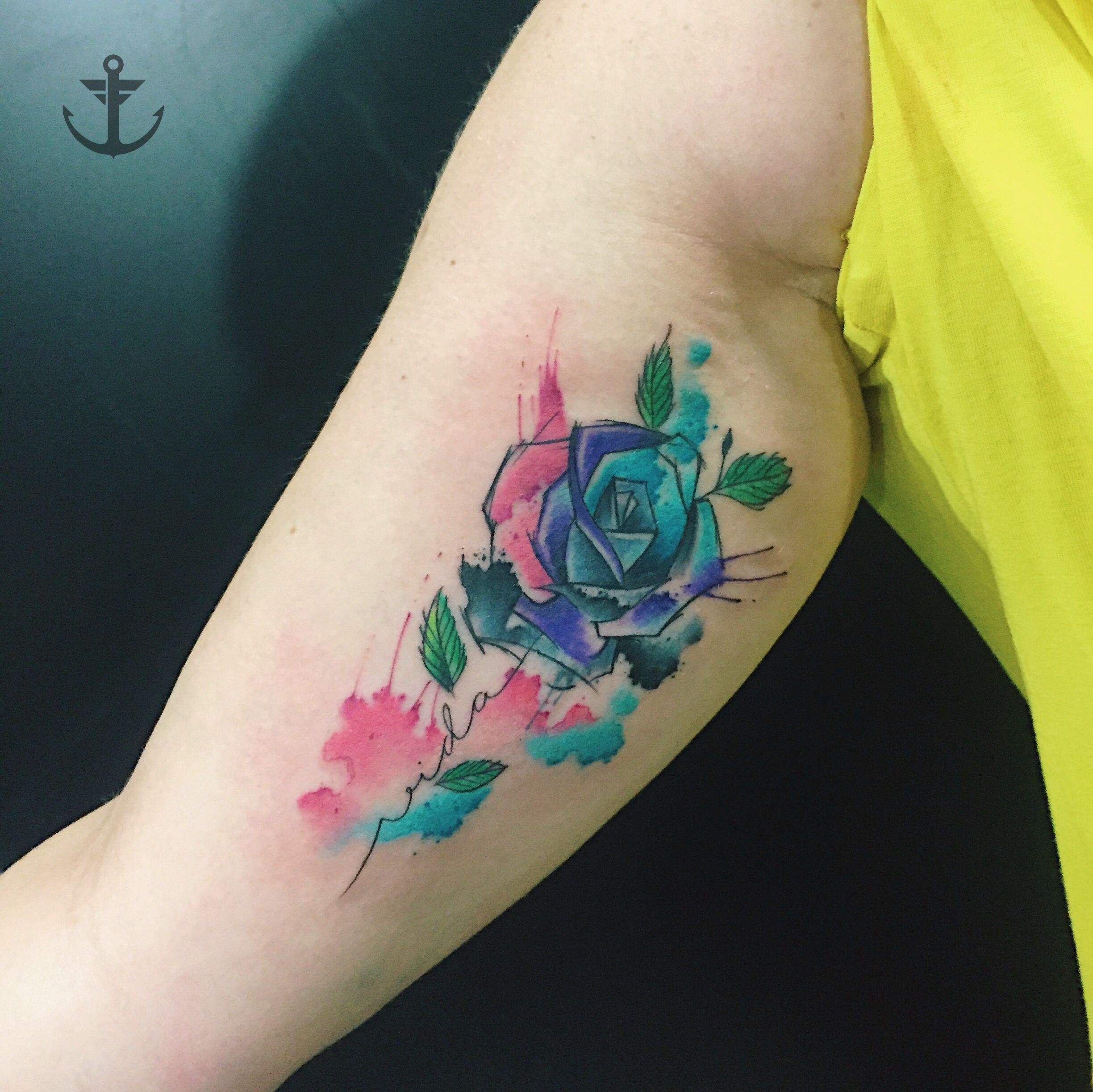 Tattoo By Felipe Bernardes Brazilian Tattoo Artist Watercolor
