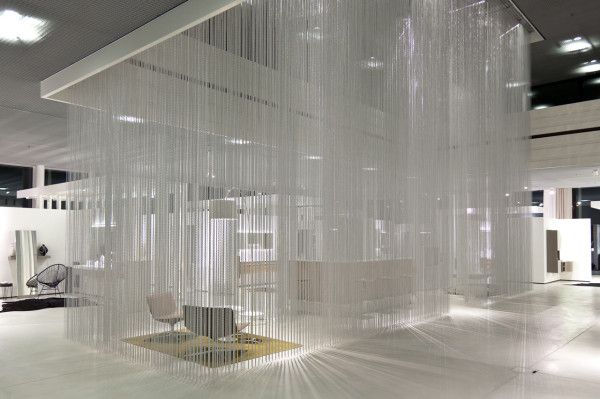 It S Raining Chains In The Talsee Showroom Showroom Design