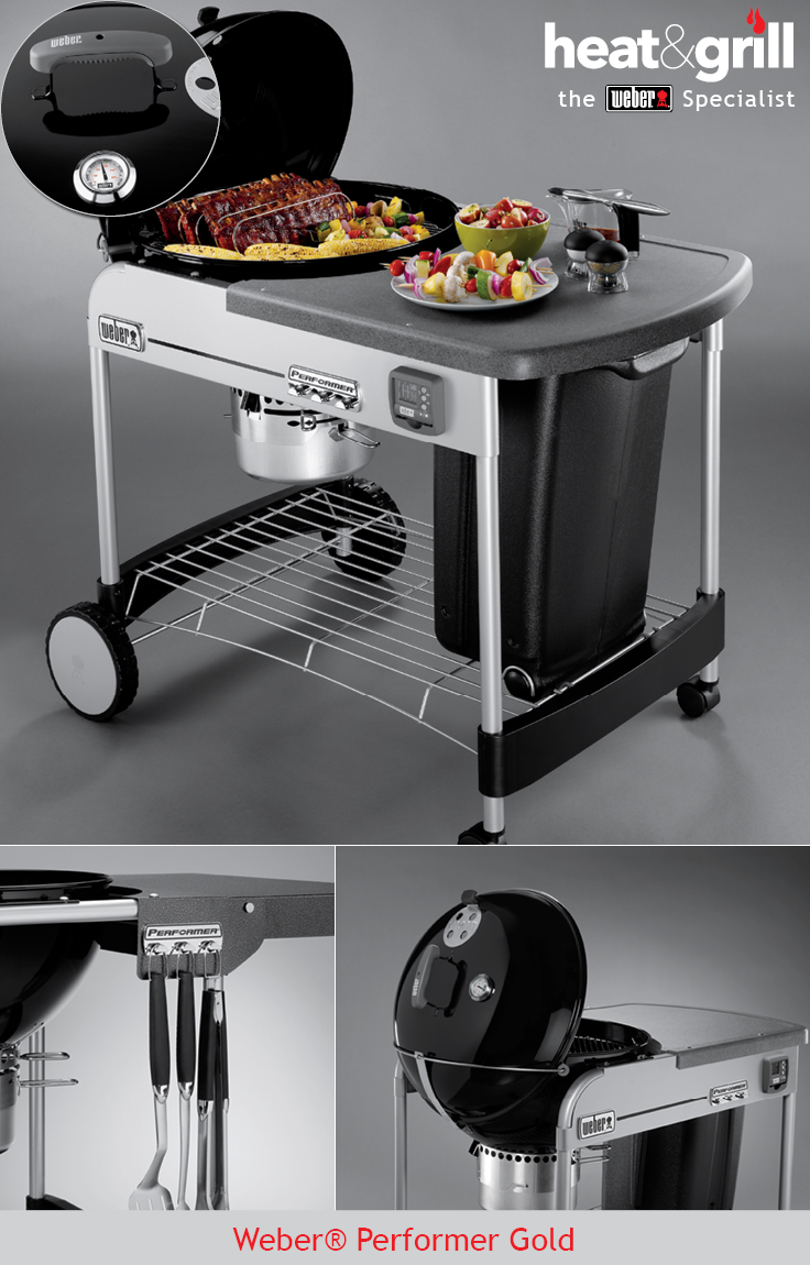 The New Performer Kettles Are Weber S Premium Charcoal Range They Offer The Amazing Flavour Of Trad Charcoal Grill Weber Charcoal Grill Gas And Charcoal Grill