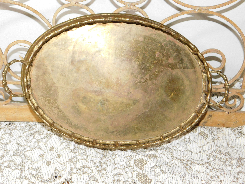 Brass Vanity Gold Mirror Dresser Mirror Mirror Tray Vintage Home Decor Bathroom Decor Bedroom Decor Dresser Trays S Vanity Tray Decor Dresser With Mirror Bathroom Vanity Tray