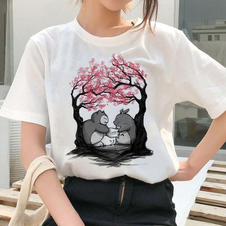 Totoro Spirit Away Studio Ghibli Women T-shirts ...