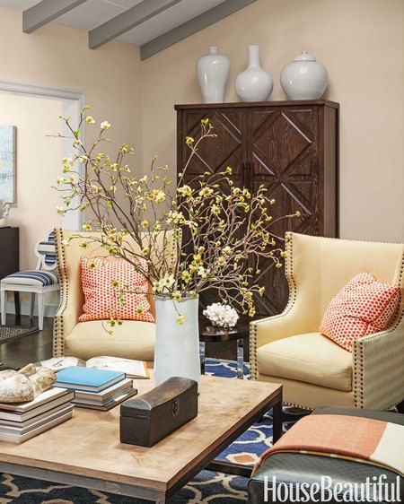 Beautiful Living Room Colors: A Happy California House With Colors Inspired By Nature