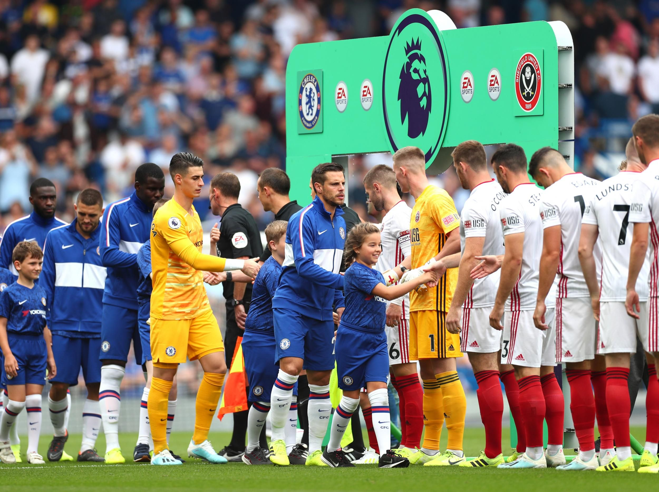 Chelsea vs Sheffield United LIVE EPL latest scores and