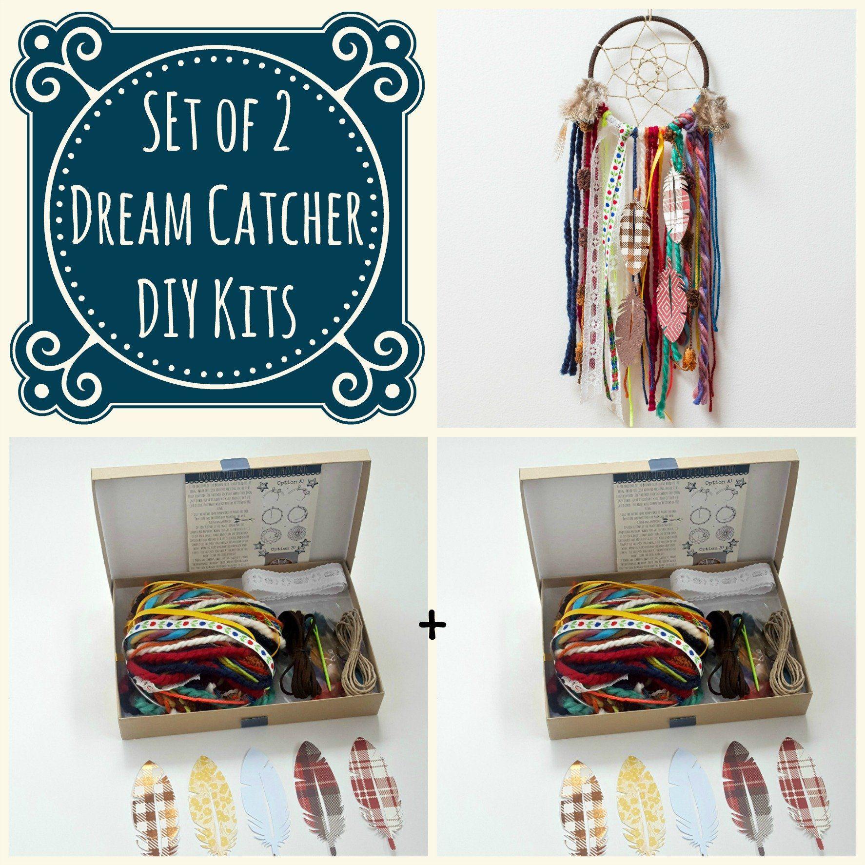 XinXiang DIY Dream Catcher Make Your Own Dream Catcher Arts and Crafts Kit for Tween Girls Handmade Dream Catcher